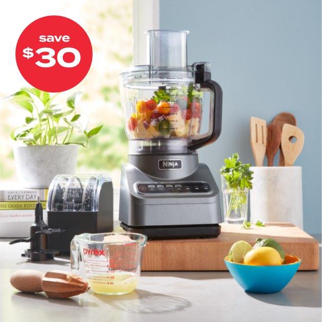 save $30 | Ninja® Professional Advanced 9-cup food processor with Auto-iQ®