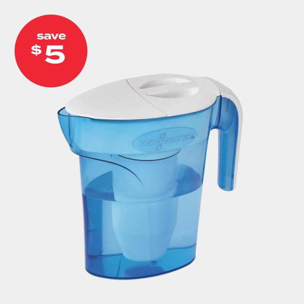 save $5 | ZeroWater® 7-cup pitcher