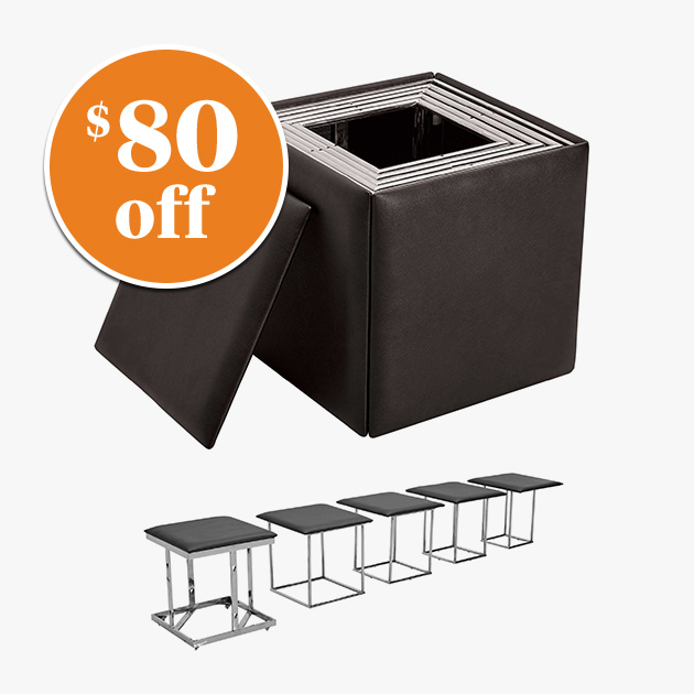 Scube Ottoman with Stools - $80 Off