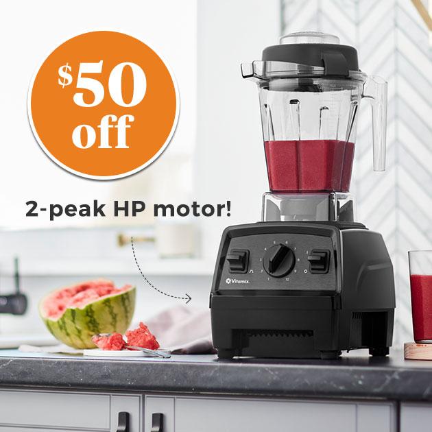 $50 off 2-peak HP motor