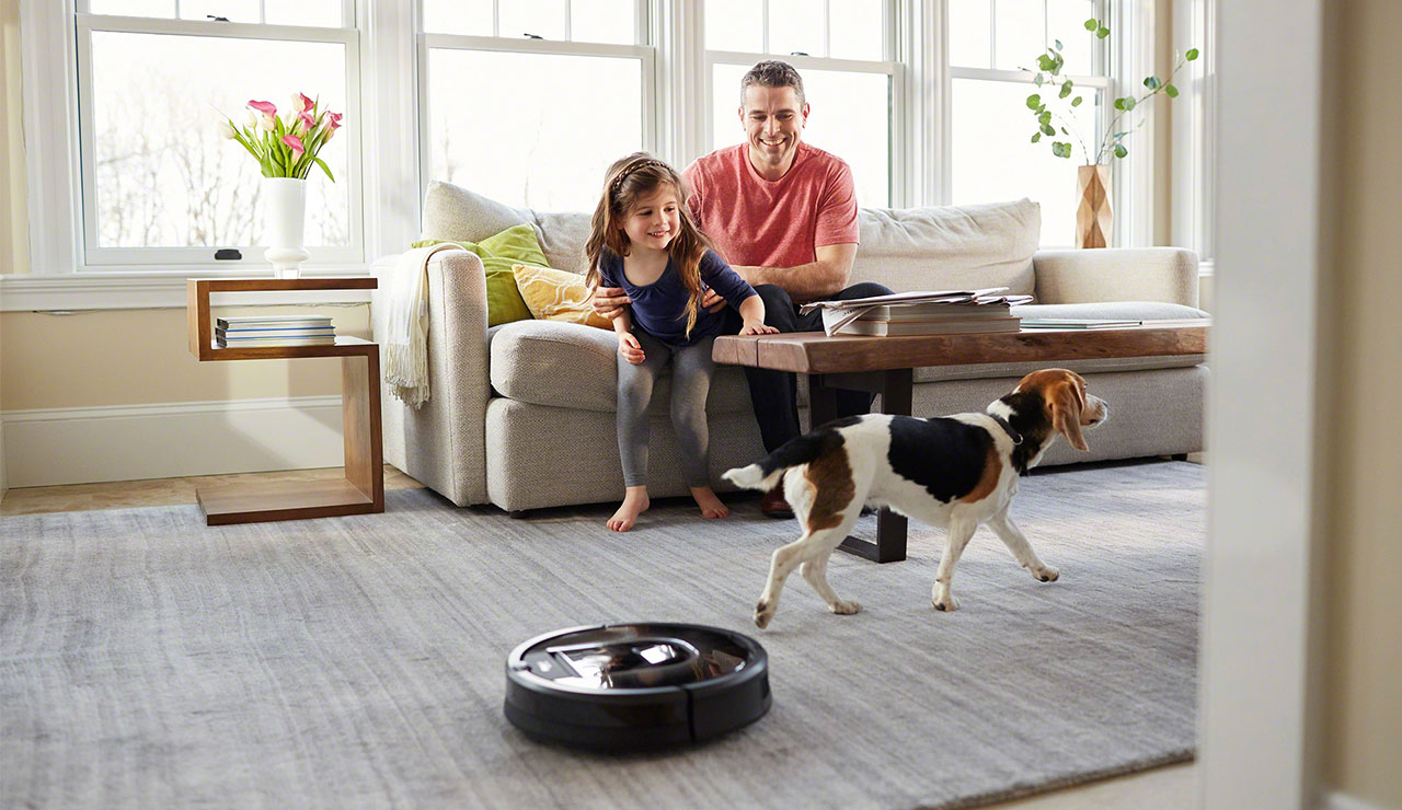 up to $100 off select irobot floorcare