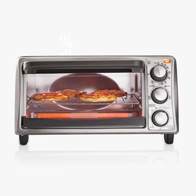 Cuisinart® Black+Decker™ 4-Slice Toaster Oven