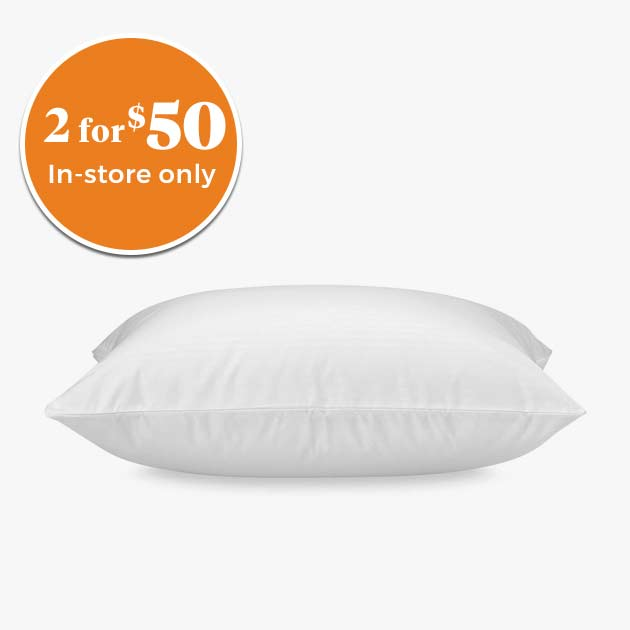 EXCLUSIVELY OURS℠ I Can't Believe This Isn't Down Microfibre Jumbo Pillow 2 for $50 In Store Only