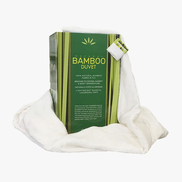NEW + EXCLUSIVE Natural Home Bamboo Duvet