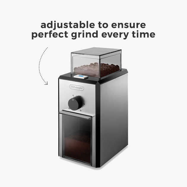 adjustable to ensure perfect grind every time