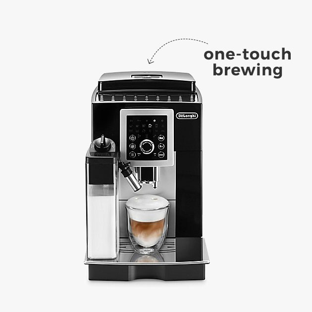 one-touch brewing