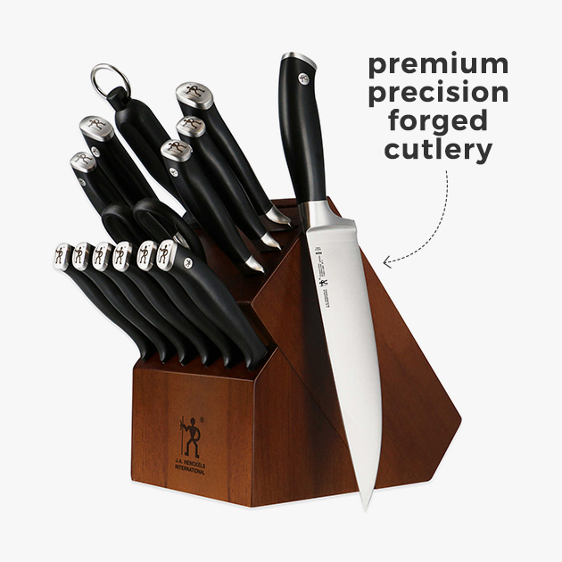 Premium precision forged cutlery