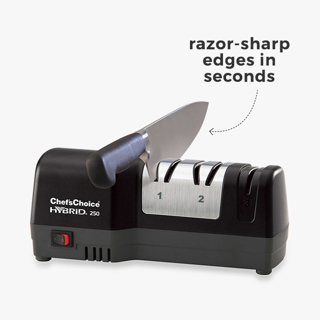 razor-sharp edges in seconds