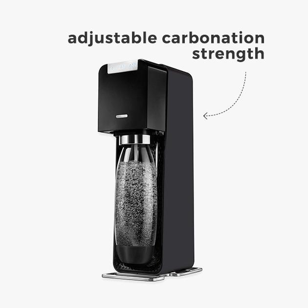 adjustable carbonation strength
