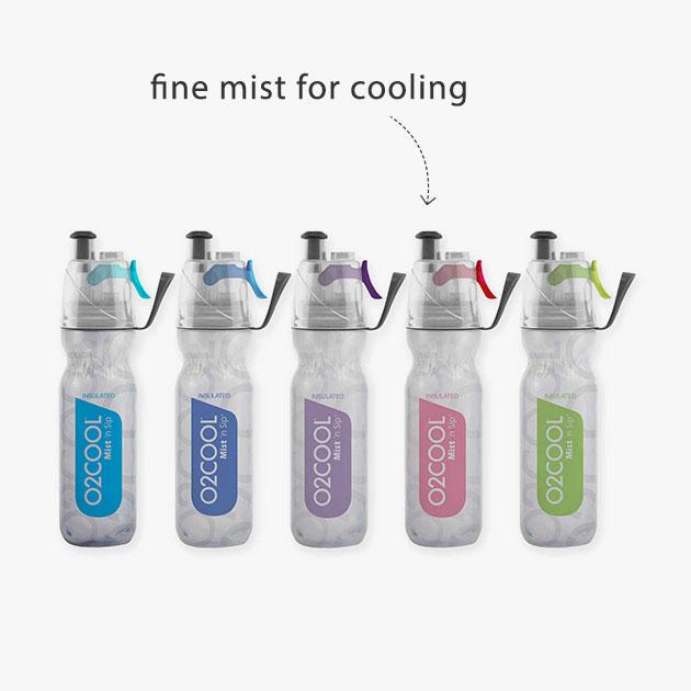 fine mist for cooling