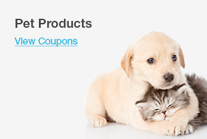 Pet Products - View Coupons