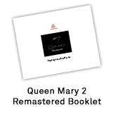 Queen Mary 2 Remastered Booklet