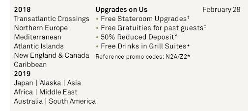 Upgrades on Us