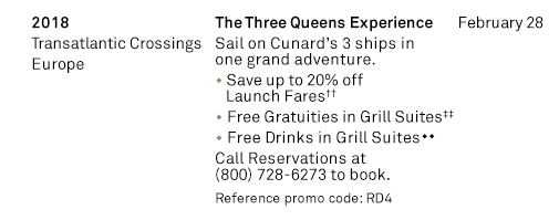 The Three Queens Experience