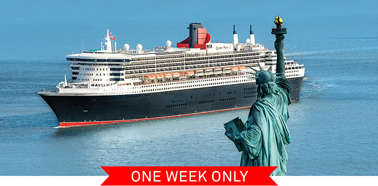 Queen Mary 2 in New York