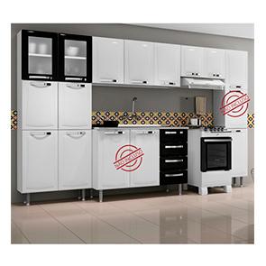 Cozinha Compacta em aço Itanew 11 Portas Itatiaia