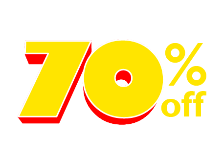 FINAL DAY! In-store only. 70% off your total purchase of by-the-yard foam.