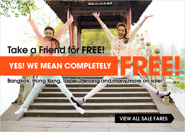 Take a Friend for FREE