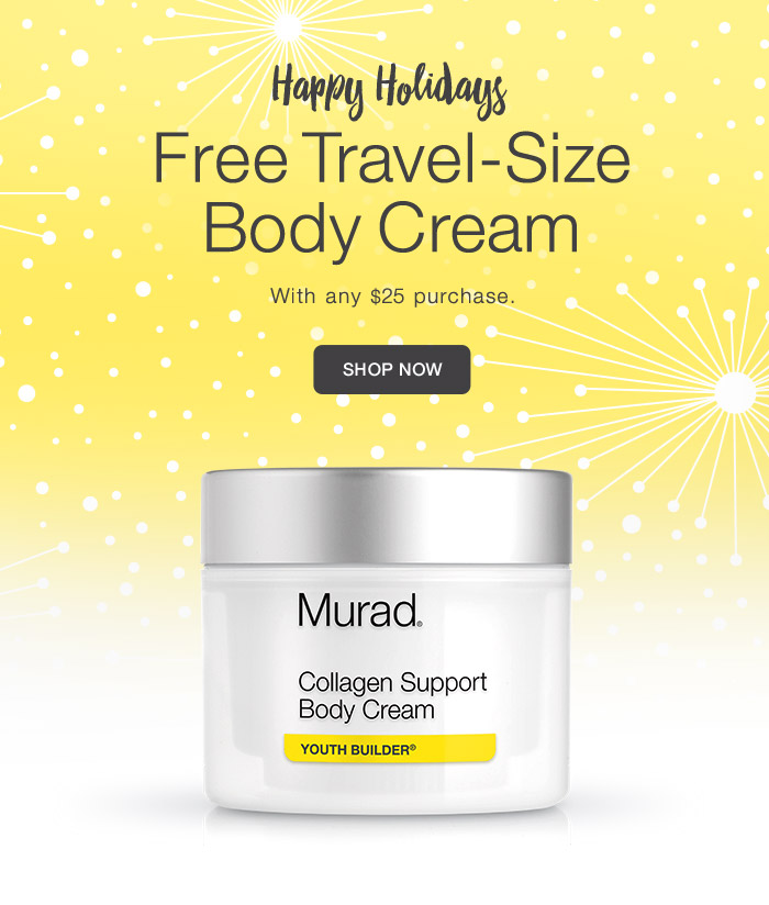 Free Travel-Size Body Cream