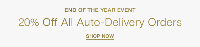 20% Off Auto-Delivery