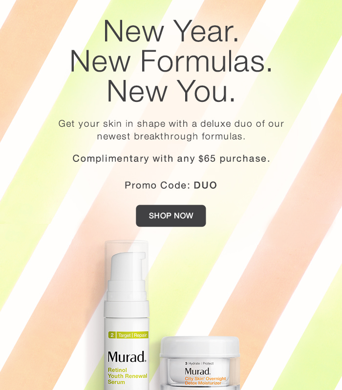 Free Duo w/ Any $65 Purchase