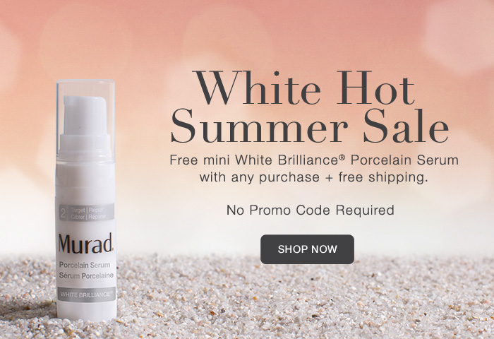 White Hot Summer Sale