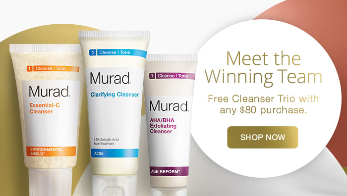 Free Cleanser Trio