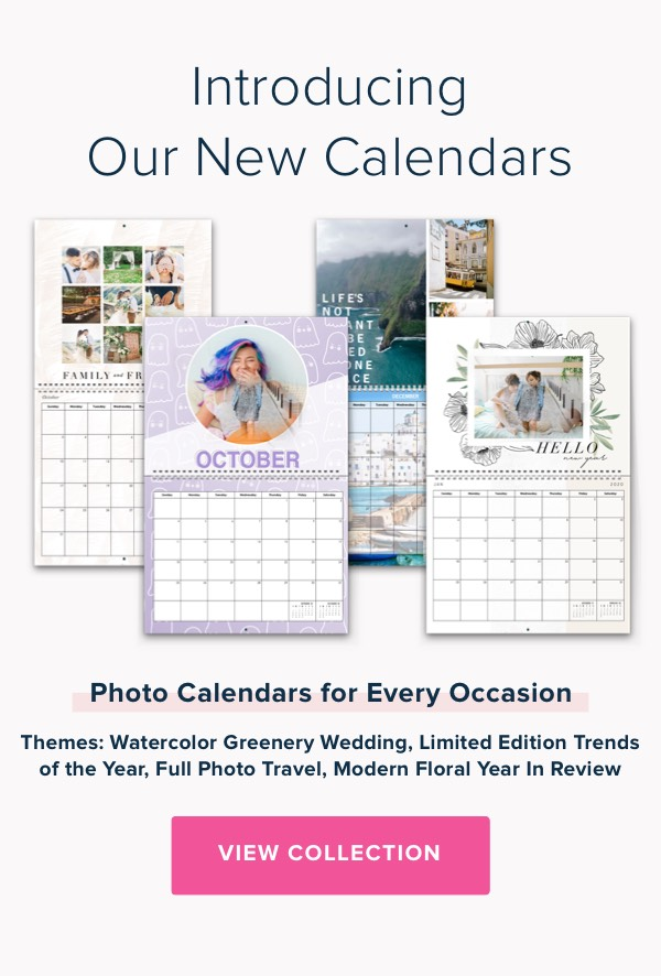 Introducing Our New Calendars