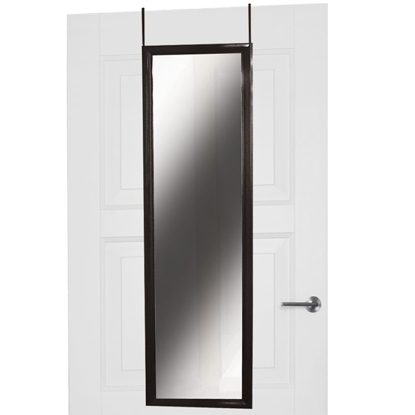 Over the Door Mirror, 12in x 48in
