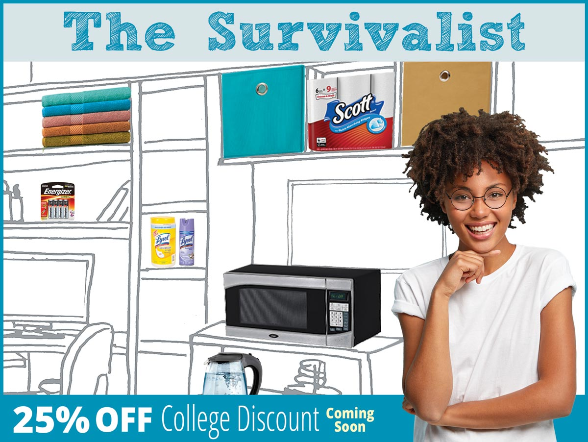 25% off College Discount!