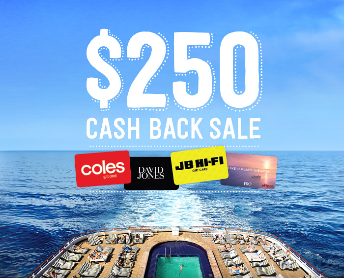 $250 CASH BACK SALE