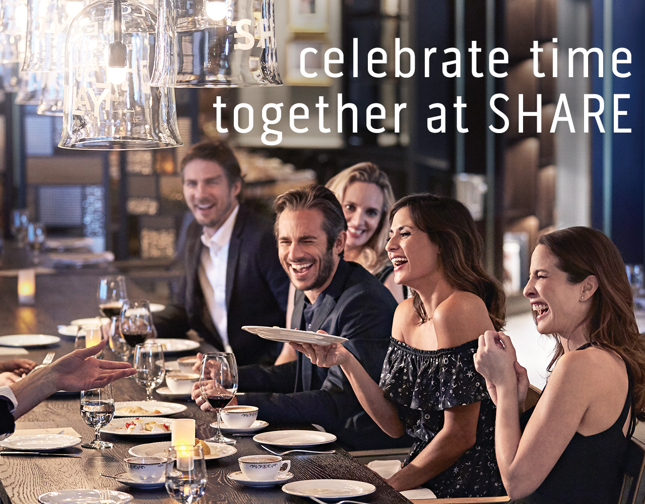 celebrate time together at SHARE