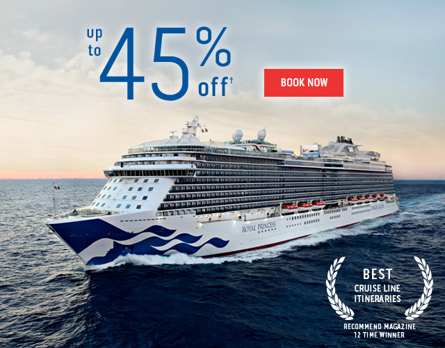 Up to 45% off†. Book Now.