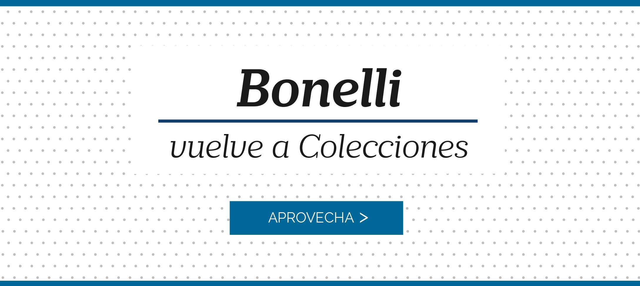 Bonelli vuelve a Colecciones