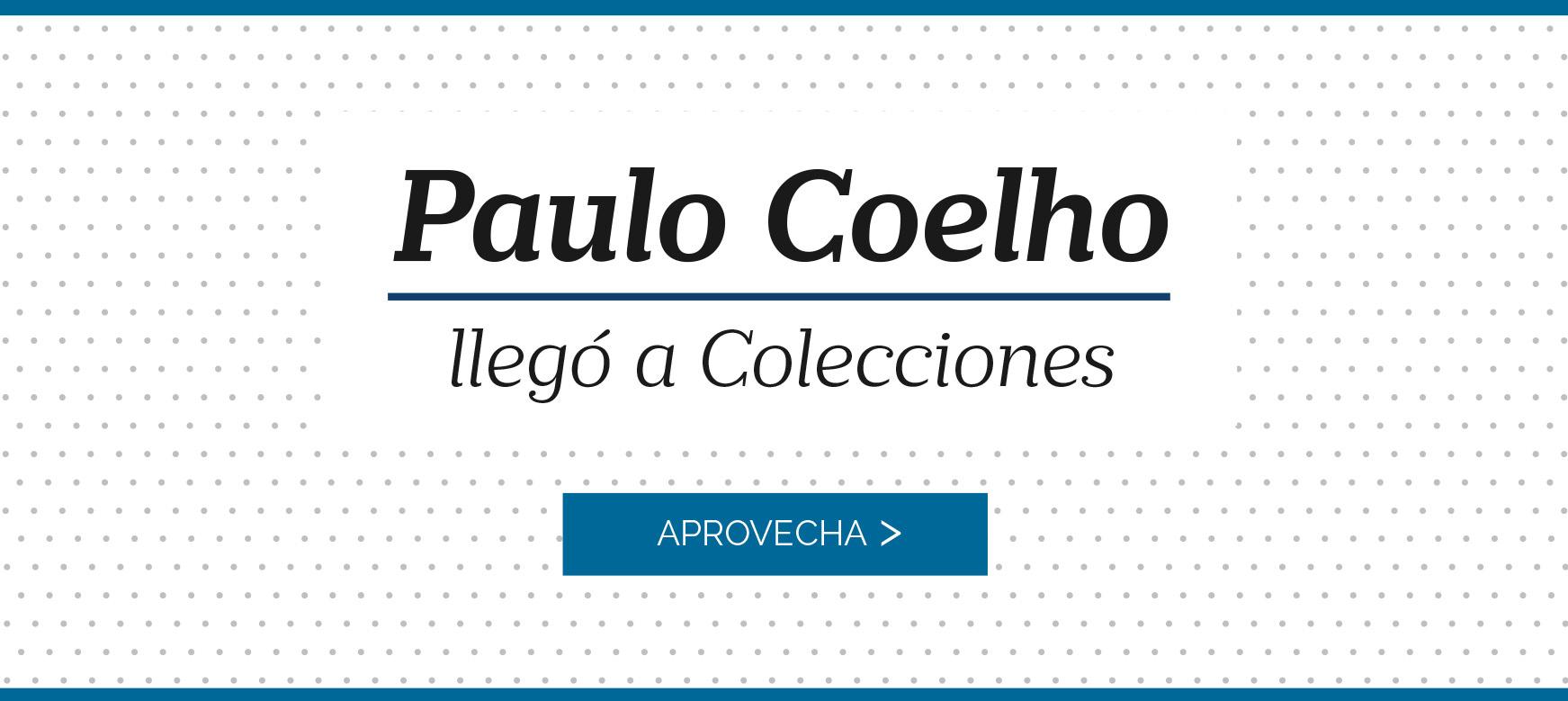 Paulo Coelho llegó a Colecciones