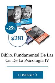Biblio. Fundamental De Las Cs. De La Psicología IV
