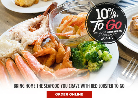 Bring home the seafood you crave with Red Lobster To Go     Order Online
