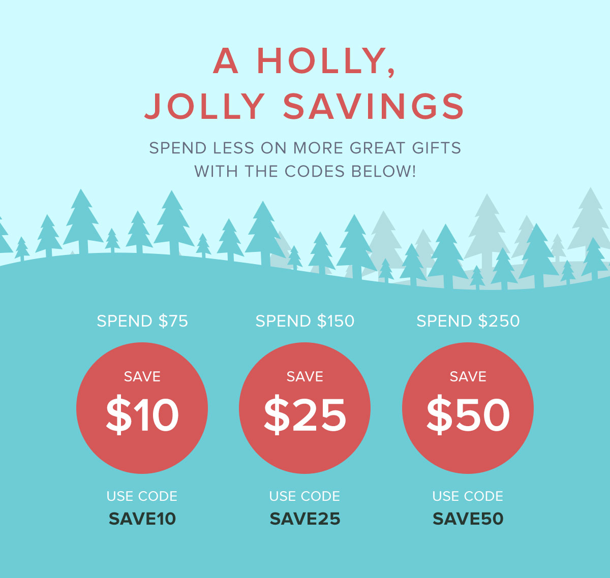 Holly Jolly Savings