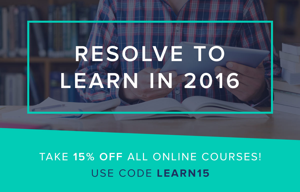 Resolve to Learn in 2016