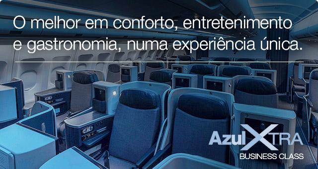 Conheça as vantagens da nova classe da Azul.