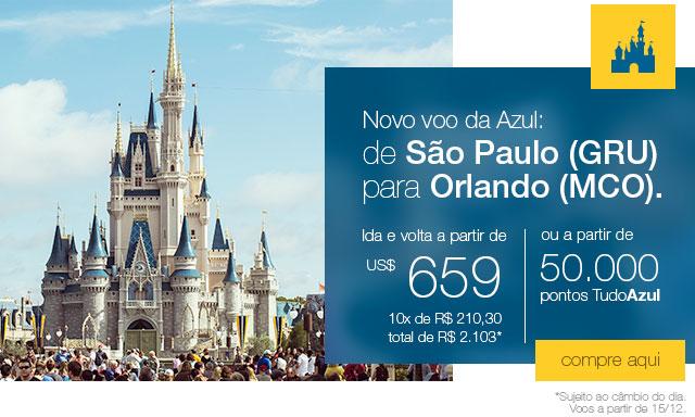 Agora você voa direto de Guarulhos para Orlando