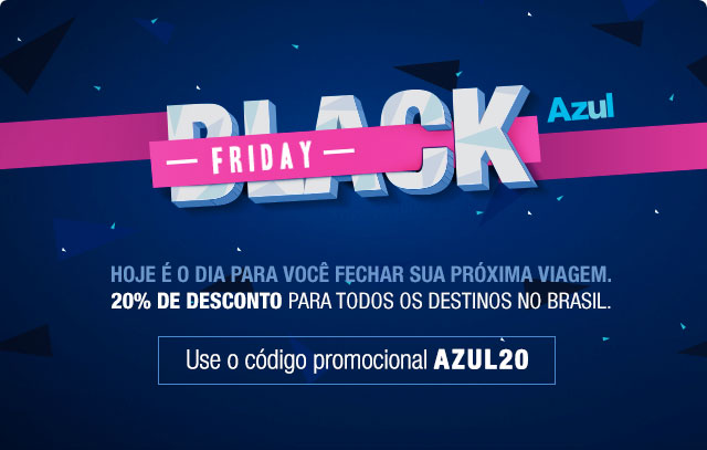 Black Friday Azul