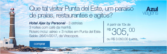 Que tal visitar Punta del Este, um paraíso de praias, restaurantes e agitos?