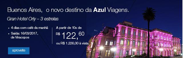 Buenos Aires, o novo destino da Azul Viagens.