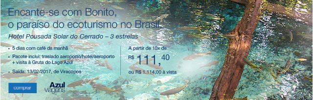 Encante-se com Bonito, o paraíso do ecoturismo no Brasil.