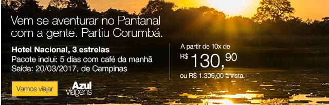 Vem se aventurar no Pantanal com a gente. Partiu Corumbá.