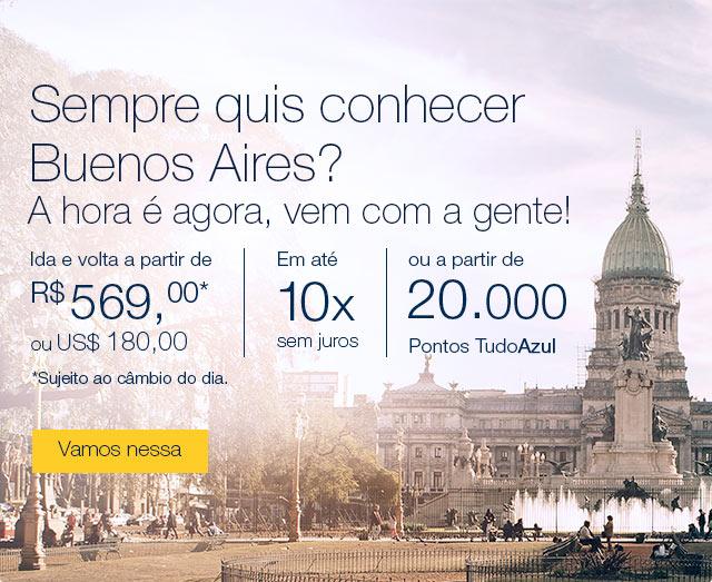 Sempre quis conhecer Buenos Aires? A hora é agora, vem com a gente!