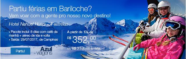 Partiu em férias em Bariloche? Vem voar com a gente pro nosso novo destino!