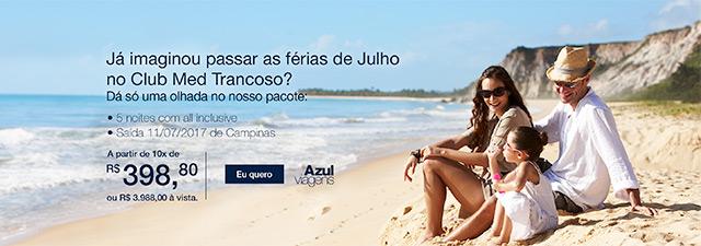 Já imaginou passar as férias de Julho no Club Med Trancoso?