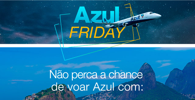Não perca a chance de voar Azul com: 20% dedesconto use o codigo: Azul20. Eu quero!